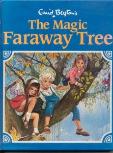 Book cover for Enid Blyton's The Magic Faraway Tree