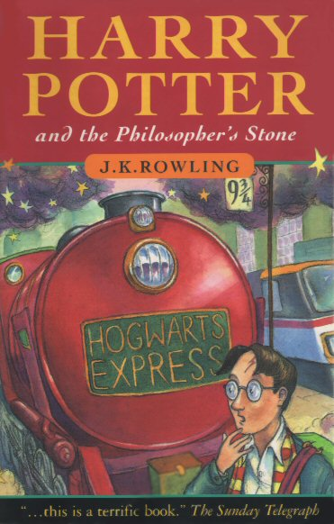 Harry Potter and the Philospher's Stone Book Cover
