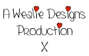 A Wealie Design Production x Logo - Copyright R.Weal, All rights reserved