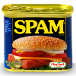 Tin of Turkey Spam