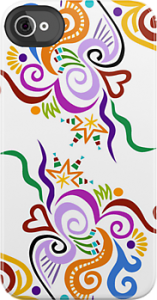 Example of iPhone case with Wealie artwork