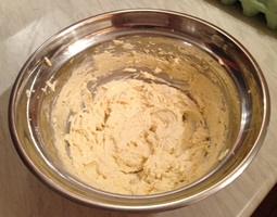 creamed butter and sugar for cake baking